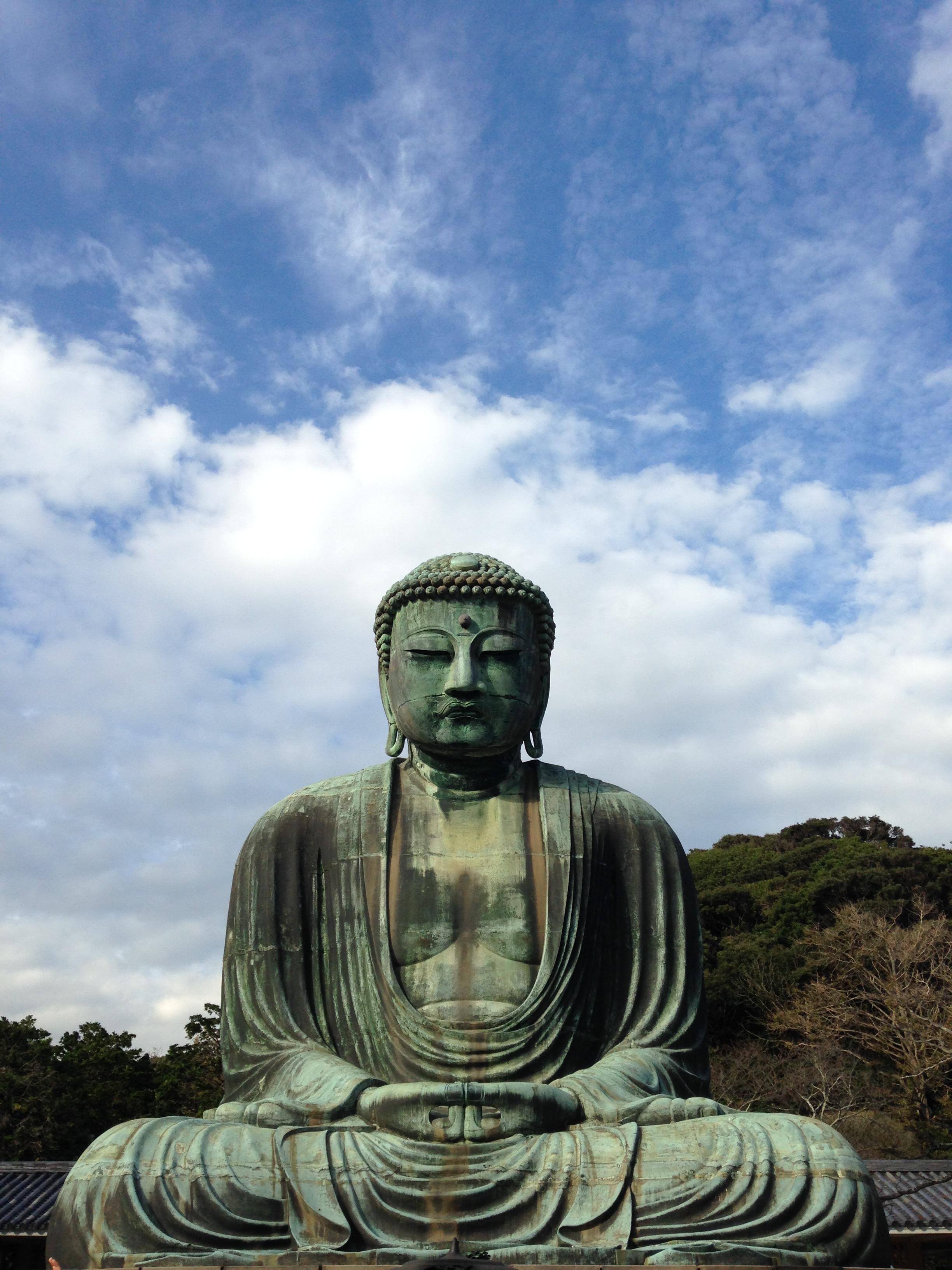 鎌倉の大仏の中へ潜入。