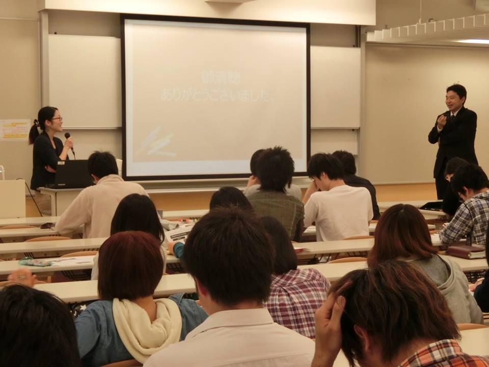 東京未来大学さんでお話しさせていただきました!!~一人情熱大陸~