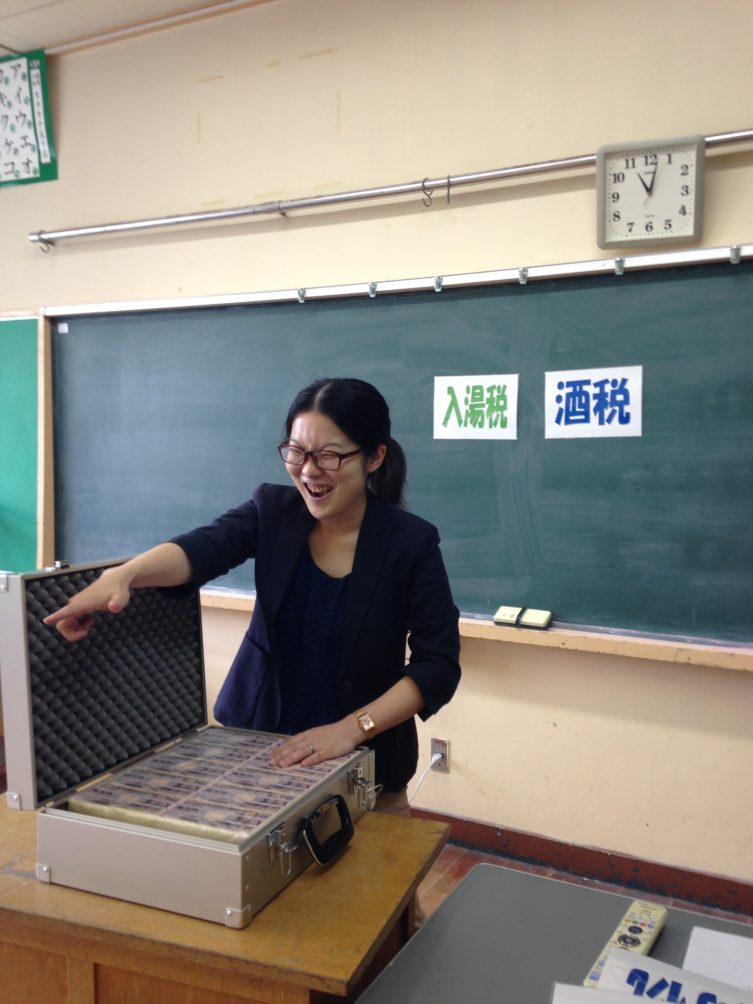 足立区の小学校で租税教室の先生をやらせていただきました!