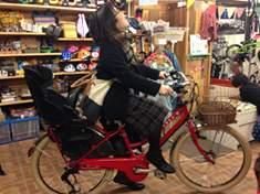 VERYコラボの子供乗せ電動自転車HYDEE.Ⅱを買ったので、VERYの読モになりたいです。